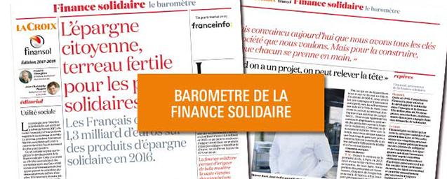 16ème baromètre finance solidiare
